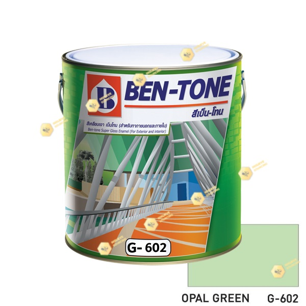 เบนโทน เบเยอร์ G-602 Opal Green สีเคลือบเงา 1gl