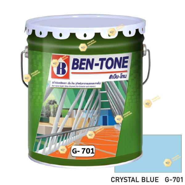 เบนโทน เบเยอร์ G-701 Crystal Blue สีเคลือบเงา 5gl