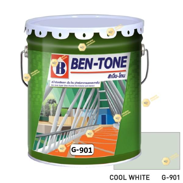 เบนโทน เบเยอร์ G-901 Cool White สีเคลือบเงา 5gl