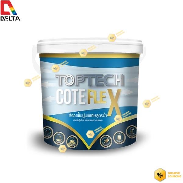 DELTA TOPTECH COTE FLEX สีเดลต้า ท็อปเทค โค้ด เฟล็ก 3.6 ลิตร