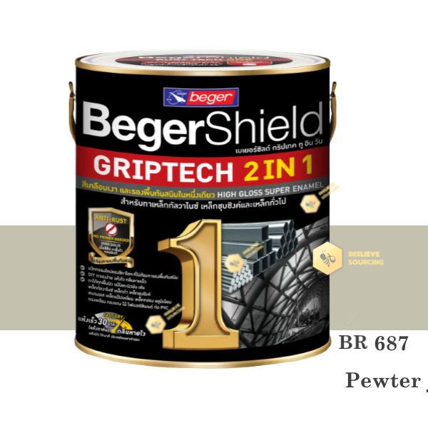 BegerShield Griptech 2in1-BR687 สีเคลือบเงา