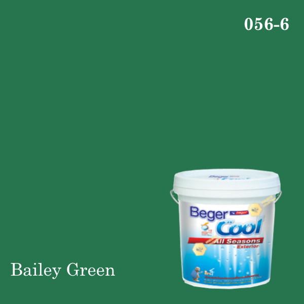 เบเยอร์คูล ออลซีซั่นส์สีน้ำอะครีลิก-ภายนอก 056-6 (Bailey Green)