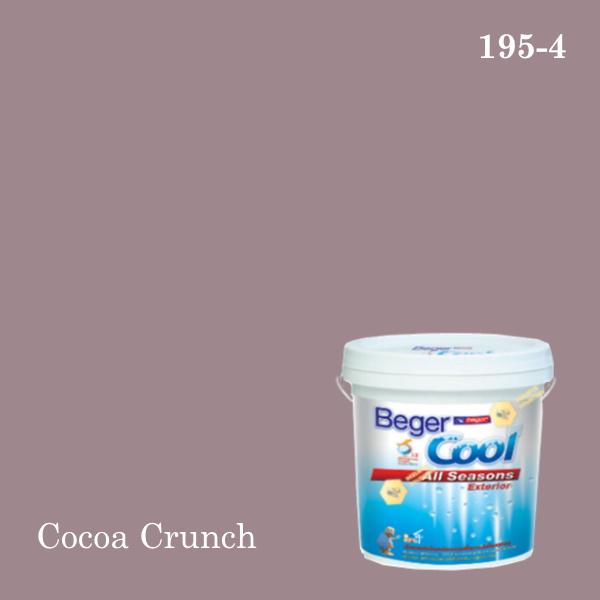 เบเยอร์คูล ออลซีซั่นส์สีน้ำอะครีลิก-ภายนอก 195-4 (PJ) Cocoa Crunch
