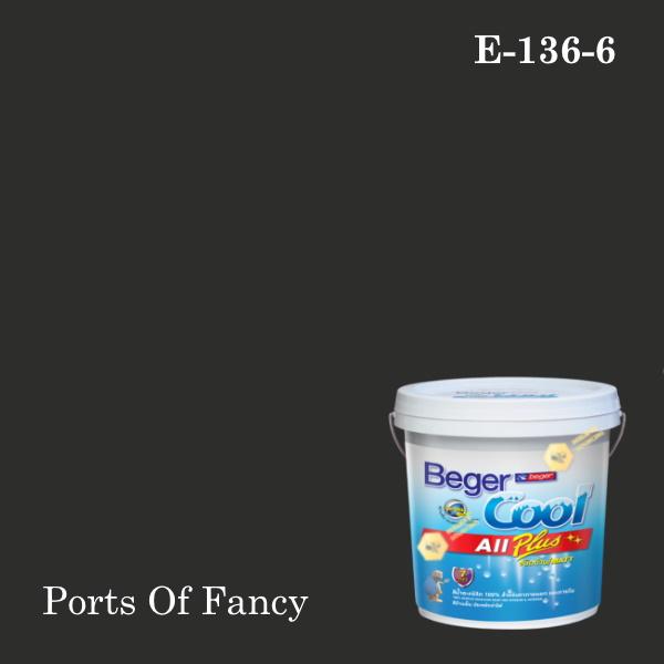 เบเยอร์คูล ออลพลัสสีน้ำอะครีลิก-ภายนอก E-136-6 (Ports Of Fancy)