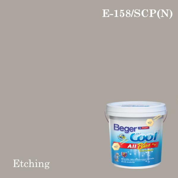 เบเยอร์คูล ออลพลัสสีน้ำอะครีลิก-ภายนอก E-H 158/SCP (N) Etching