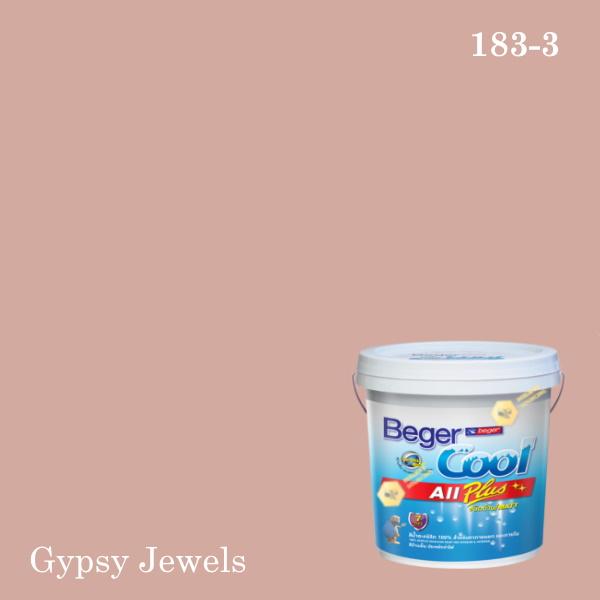 เบเยอร์คูล ออลพลัสสีน้ำอะครีลิก-ภายนอก E-183-3 (NS) Gypsy Jewels