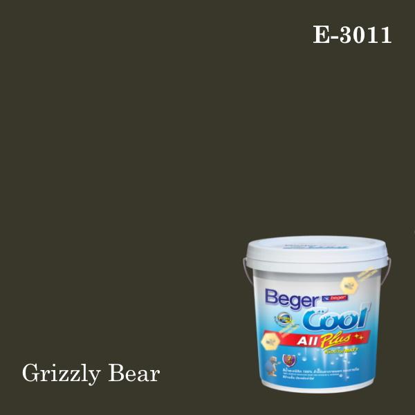 เบเยอร์คูล ออลพลัสสีน้ำอะครีลิก-ภายนอก E-3011 (Grizzly Bear)