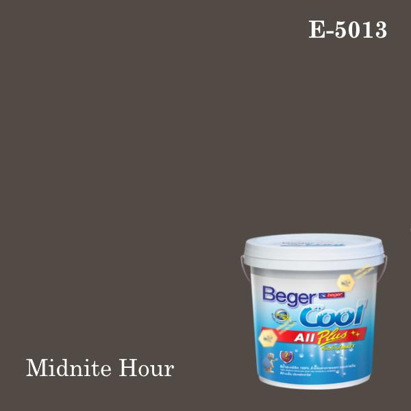 เบเยอร์คูล ออลพลัสสีน้ำอะครีลิก-ภายนอก E-5013LH/N (Midnite Hour)