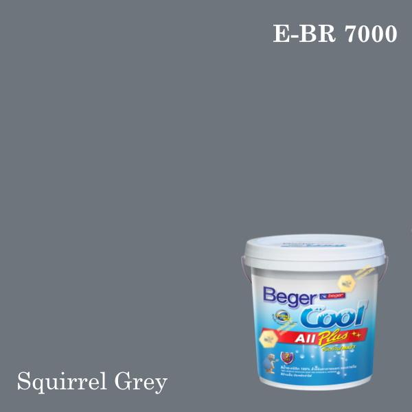 เบเยอร์คูล ออลพลัสสีน้ำอะครีลิก-ภายนอก E-RAL 7000 (Squirrel Grey)