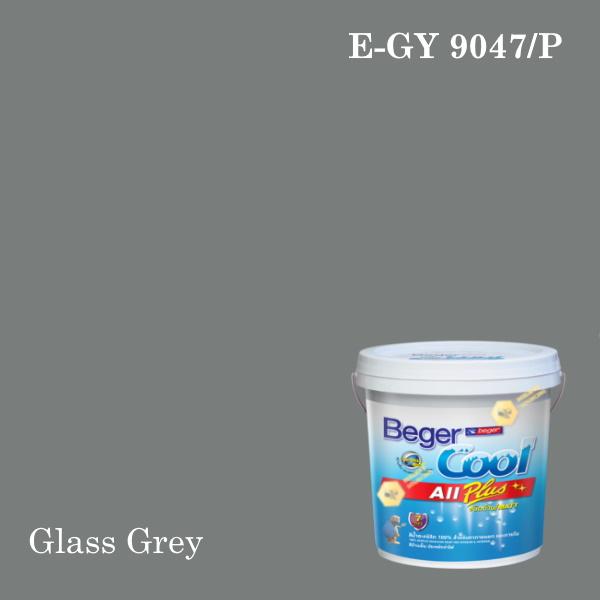 เบเยอร์คูล ออลพลัสสีน้ำอะครีลิก-ภายนอก E-GY 9047/P (Glass Grey)