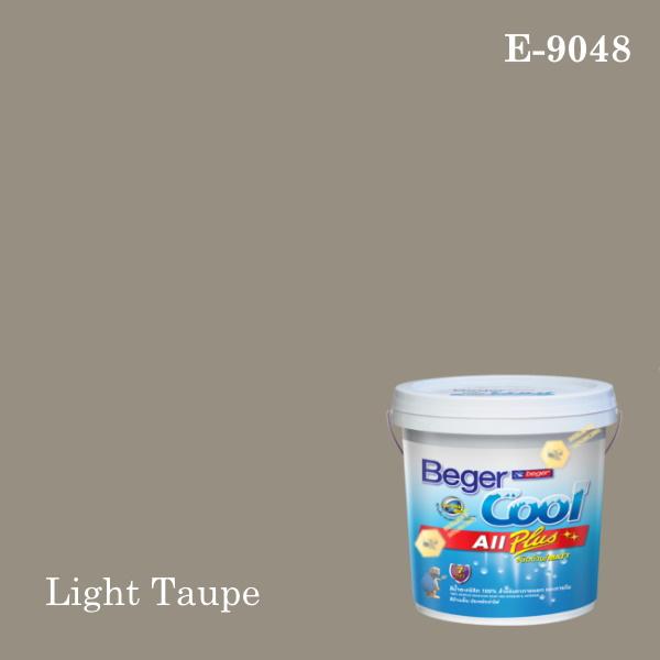 เบเยอร์คูล ออลพลัสสีน้ำอะครีลิก-ภายนอก E-9048 (Light Taupe)