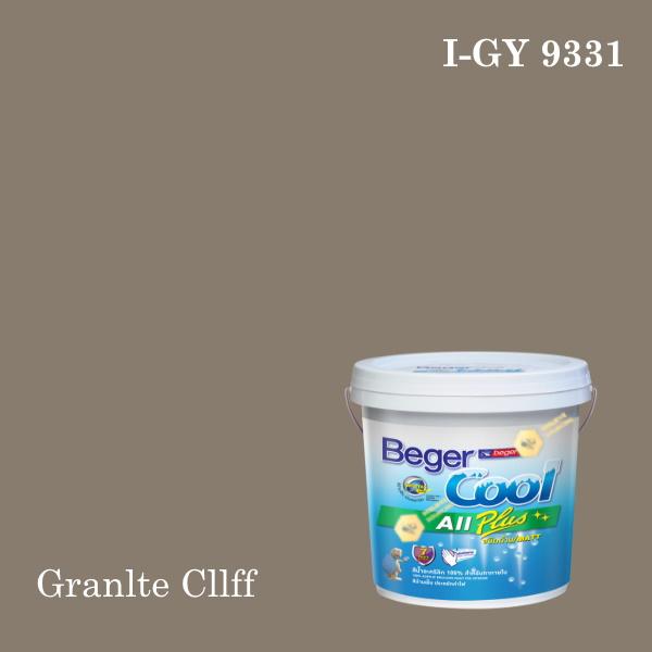 เบเยอร์คูล ออลพลัสสีน้ำอะครีลิก-ภายใน I-GY 9331/LH (Granlte Cllff)