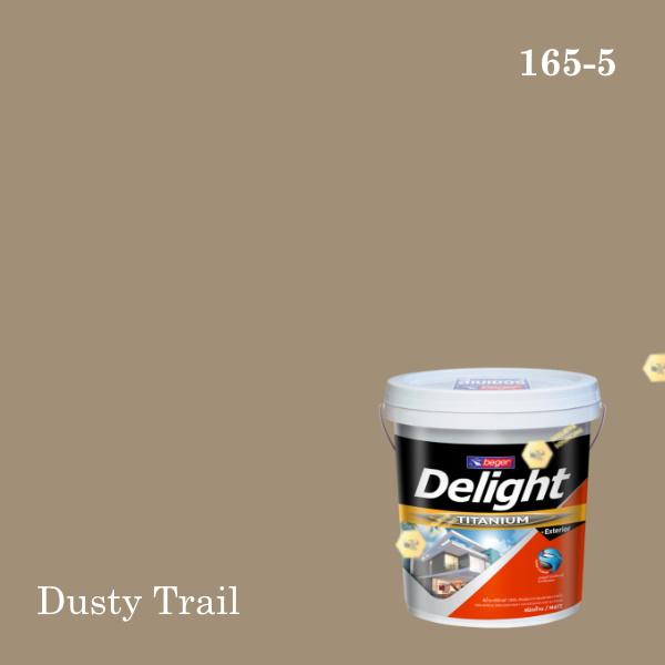 ดีไลท์สีน้ำอะครีลิก ภายนอก E-165-5 (PJ) Dusty Trail