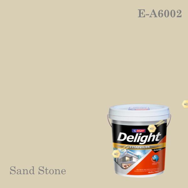 ดีไลท์สีน้ำอะครีลิก ภายนอก E-A6002 (Sand Stone)