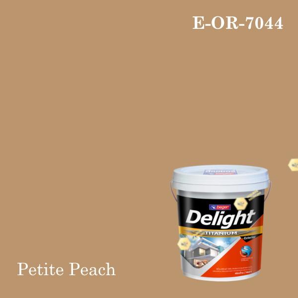 ดีไลท์สีน้ำอะครีลิก ภายนอก E-OR-7044 (Petite Peach)