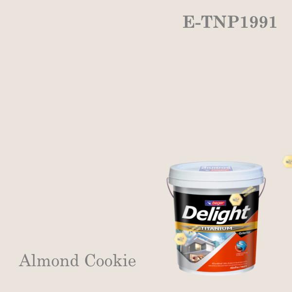 ดีไลท์ พลัสสีน้ำอะครีลิก ภายนอก E-TNP1991 (Almond Cookie)