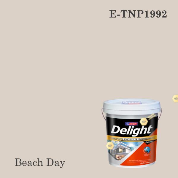 ดีไลท์ พลัสสีน้ำอะครีลิก ภายนอก E-TNP1992 (Beach Day)