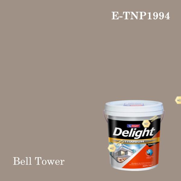 ดีไลท์ พลัสสีน้ำอะครีลิก ภายนอก E-TNP1994 (Bell Tower)