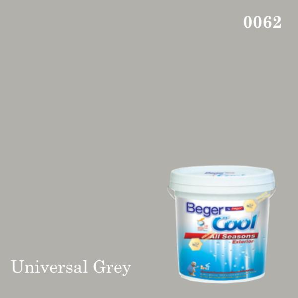 เบเยอร์คูล ออลซีซั่นส์สีน้ำอะครีลิก-ภายนอก 0062 (Universal Grey)