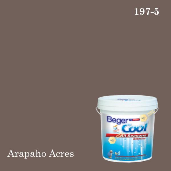 เบเยอร์คูล ออลซีซั่นส์สีน้ำอะครีลิก-ภายนอก 197-5 (Arapaho Acres)