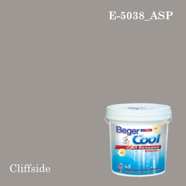 เบเยอร์คูล ออลซีซั่นส์สีน้ำอะครีลิก-ภายนอก (ASP) E-5038 (Cliffside)