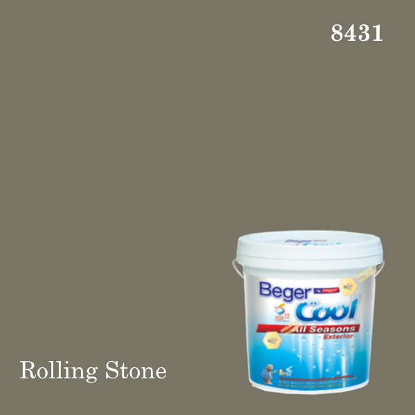 เบเยอร์คูล ออลซีซั่นส์สีน้ำอะครีลิก-ภายนอก (SSR) E-8431 Rolling Stone (WS)