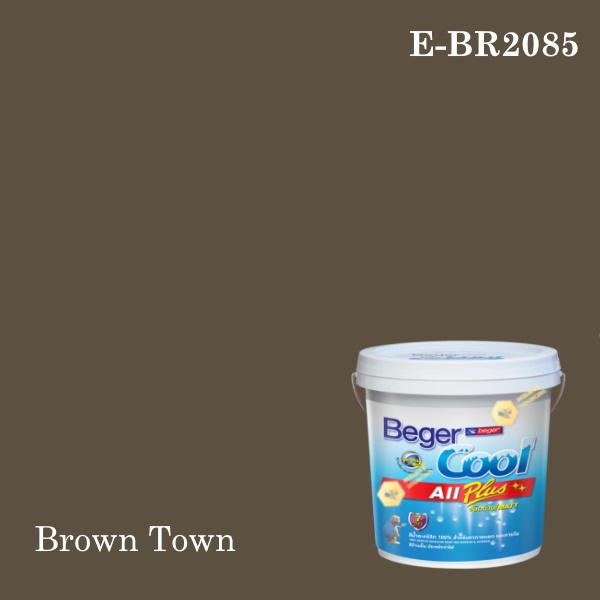 เบเยอร์คูล ออลพลัสสีน้ำอะครีลิก-ภายนอก (SSR) E-BR2085 (Brown Town)