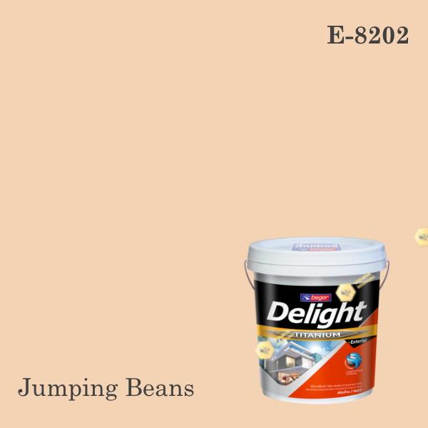 ดีไลท์สีน้ำอะครีลิก ภายนอก E-8202 (Jumping Beans)