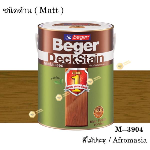 เบเยอร์ เดคสเตน สีย้อมพื้นไม้ ชนิดด้าน M-3904 (1gl.)