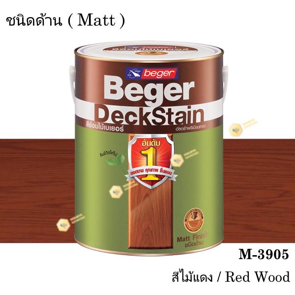 เบเยอร์ เดคสเตน สีย้อมพื้นไม้ ชนิดด้าน M-3905 (1gl.)