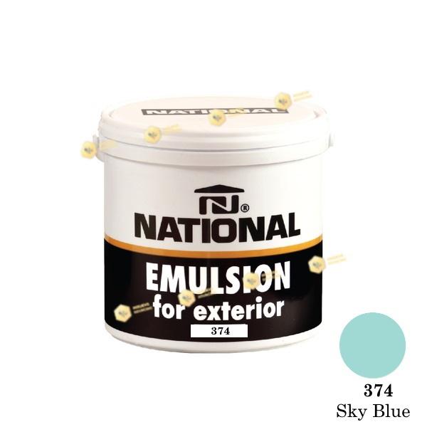 NATIONAL สีน้ำอะครีลิค ภายนอก 374 Sky Blue-1GL.