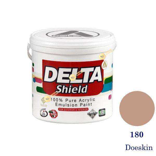 Delta Shield สีน้ำอะครีลิค 180 Doeskin-1gl.