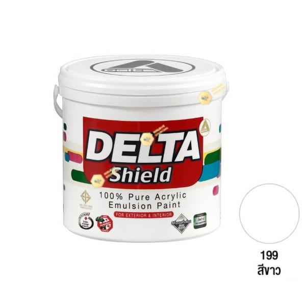 Delta Shield สีน้ำอะครีลิค 199 White-1gl.