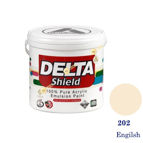 Delta Shield สีน้ำอะครีลิค 202 Engilsh-1gl.