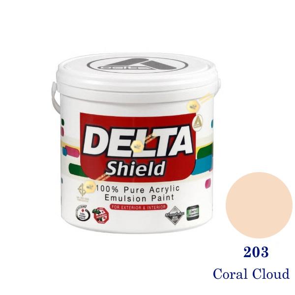 Delta Shield สีน้ำอะครีลิค 203 Coral Cloud-1gl.