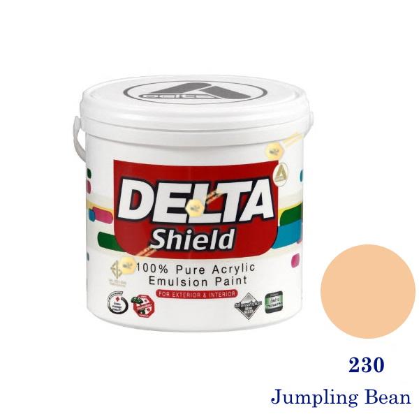 Delta Shield สีน้ำอะครีลิค 230 Jumpling Bean-1gl.