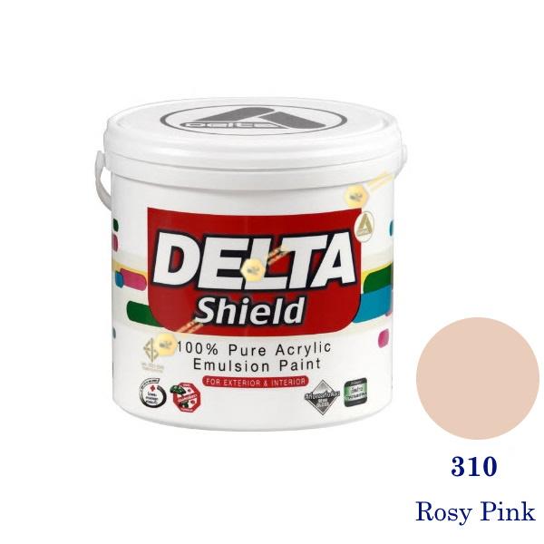 Delta Shield สีน้ำอะครีลิค 310 Rosy Pink-1gl.