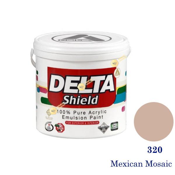Delta Shield สีน้ำอะครีลิค 320 Mexican Mosaic-1gl.