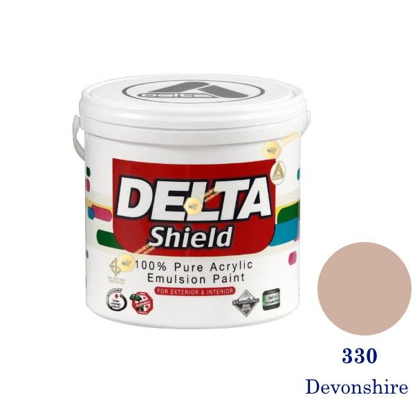 Delta Shield สีน้ำอะครีลิค 330 Devonshire-1gl.