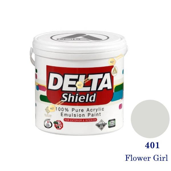 Delta Shield สีน้ำอะครีลิค 401 Flower Girl-1gl.