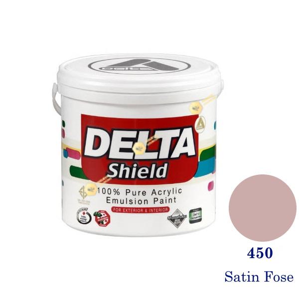Delta Shield สีน้ำอะครีลิค 450 Satin Rose-1gl.