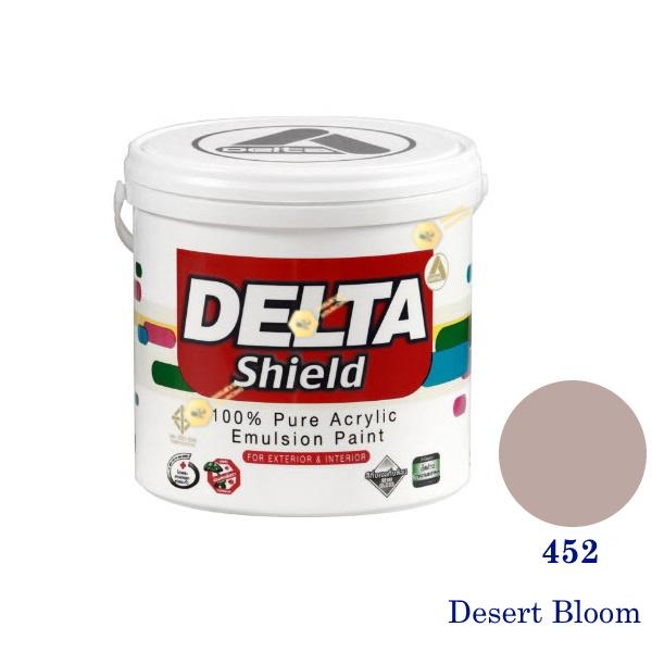 Delta Shield สีน้ำอะครีลิค 452 Desert Bloom-1gl.