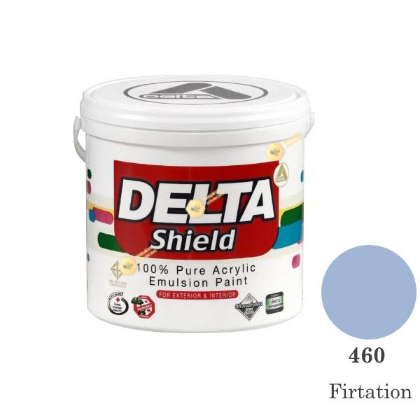 Delta Shield สีน้ำอะครีลิค 460 Firtation-1gl.
