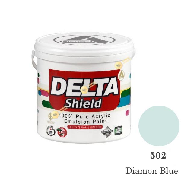 Delta Shield สีน้ำอะครีลิค 502 Diamon Blue-1gl.