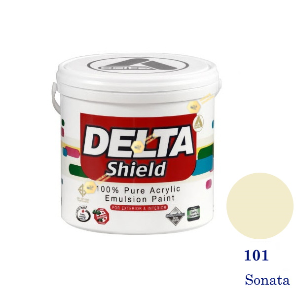 Delta Shield สีน้ำอะครีลิค 101 Sonata-1gl.