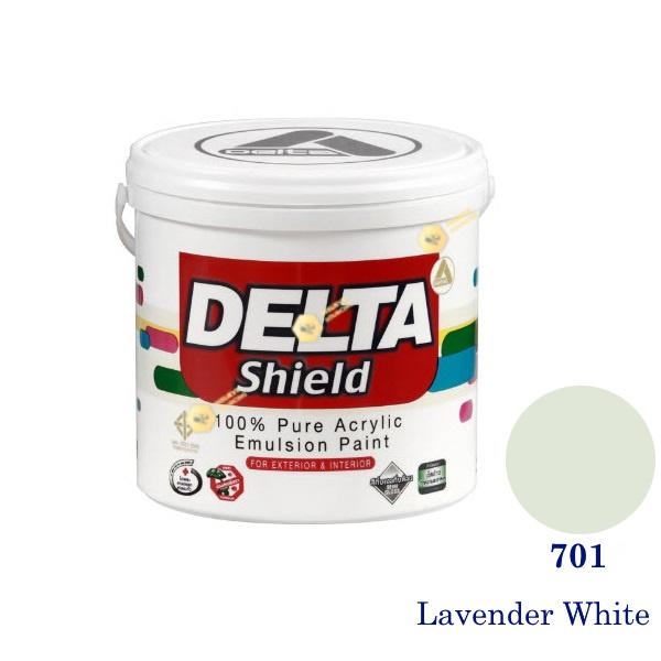 Delta Shield สีน้ำอะครีลิค 701 Lavender White-1gl.