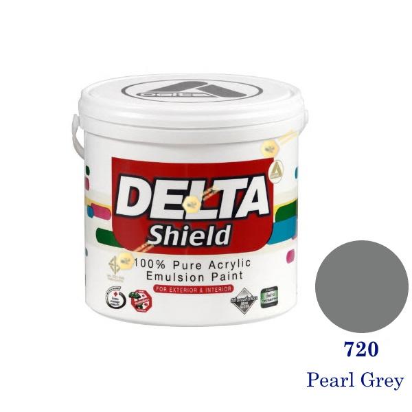 Delta Shield สีน้ำอะครีลิค 720 Pearl Grey-1gl.