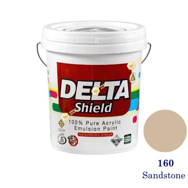 Delta Shield สีน้ำอะครีลิค 160 Sandstone-5gl.