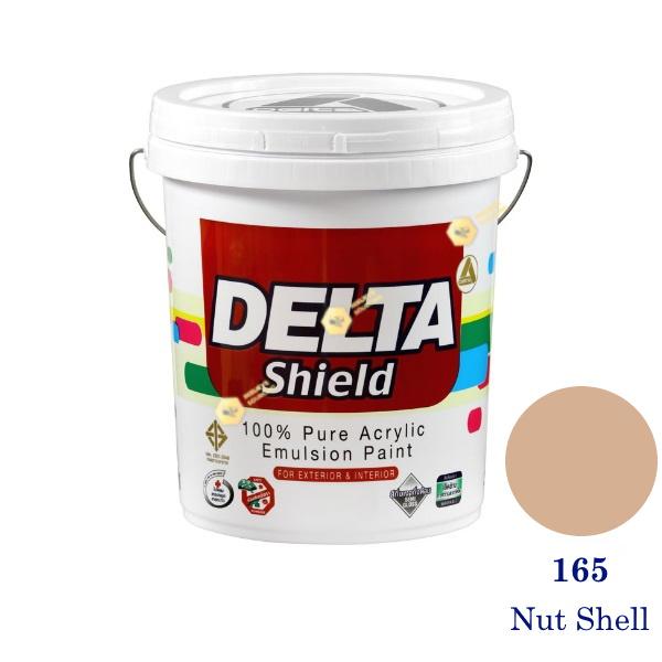 Delta Shield สีน้ำอะครีลิค 165 Nut Shell-5gl.