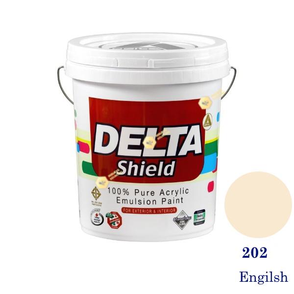 Delta Shield สีน้ำอะครีลิค 202 Engilsh-5gl.